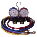 Manifold and Vacuum gauge