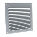 Plain aluminium ventilation grille