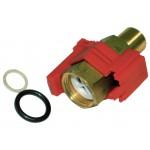 Flow detector and flow control valve